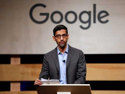 サンダー・ピチャイはグーグルとその親会社のアルファベットのCEOだ。