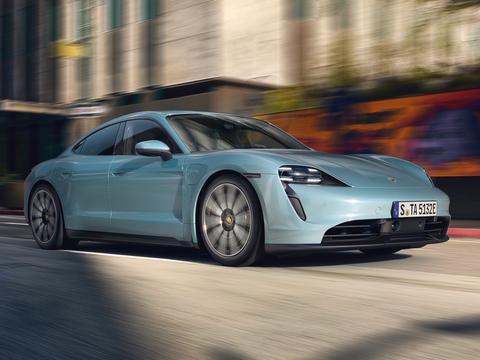 アメリカで今買える電気自動車、ポルシェ・タイカン4S