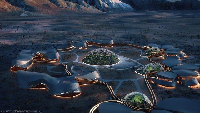 火星のいる気分になる施設は宿泊費週3000ドルから