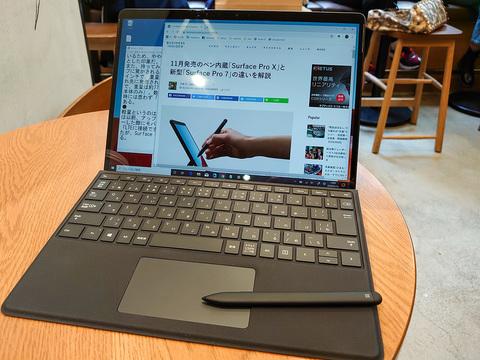 Surface Pro Xを触ってみた