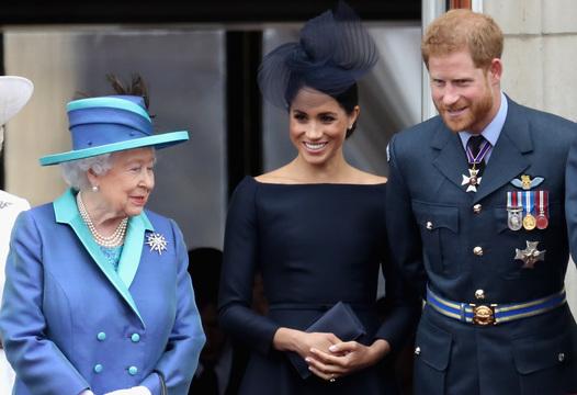ヘンリー王子夫妻とエリザベス女王。その胸中やいかに。