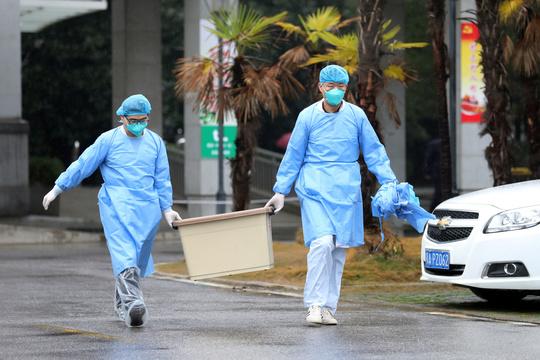 武漢の病院