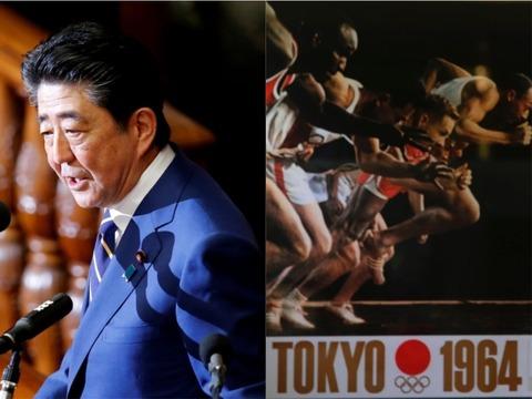 安倍首相は「オリンピック」を演説に散りばめた。