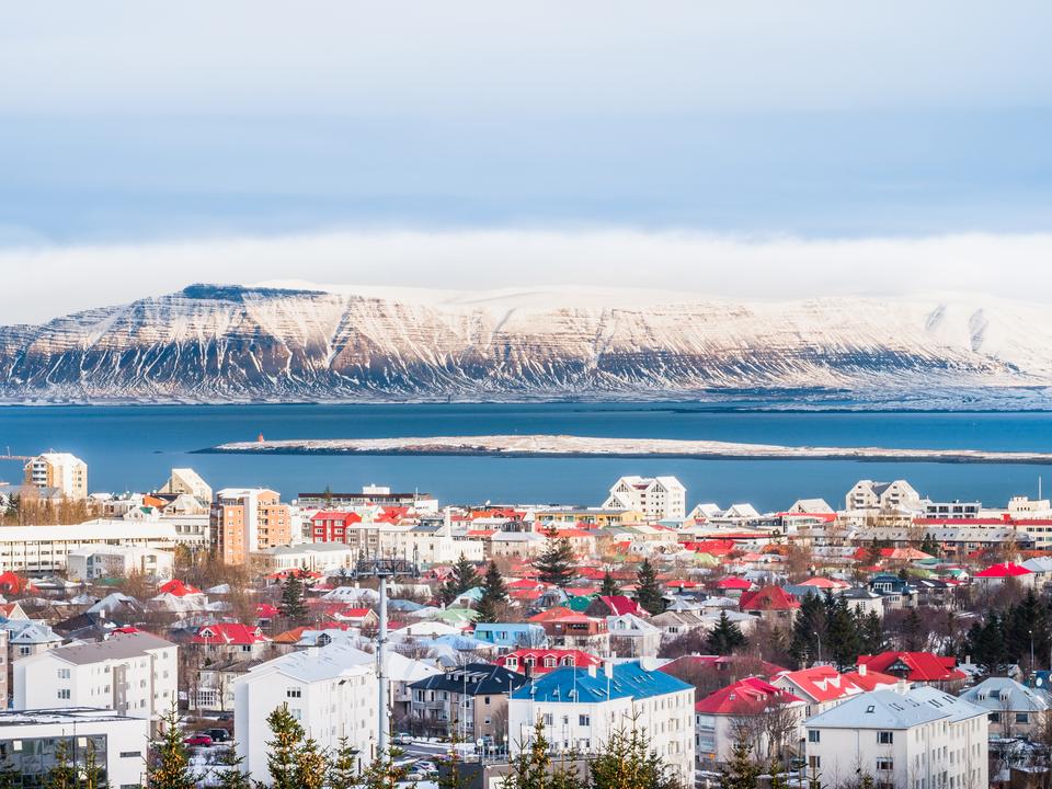 1位 アイスランド