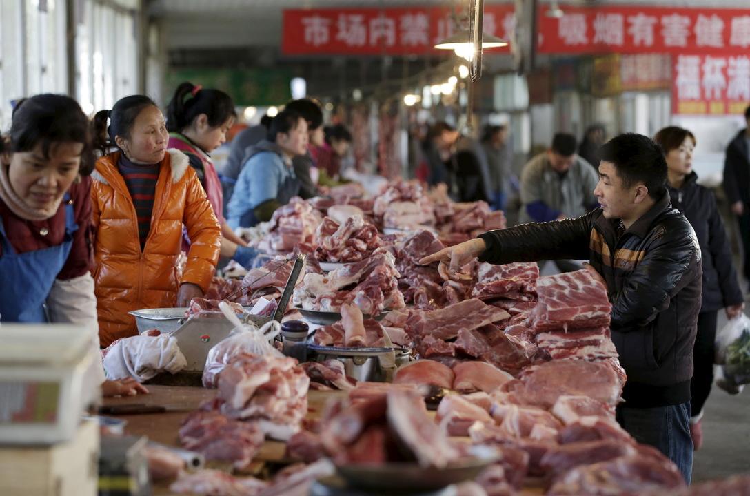 肉を販売する店