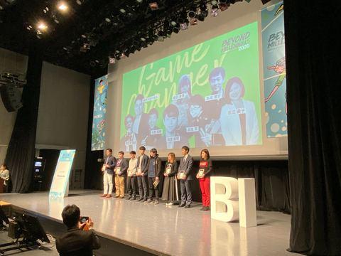 2019年に特筆すべき活躍を見せ、2020年にさらなる飛躍が期待されるリーダー「ゲームチェンジャー」8名がファイナナリストとして選出された。
