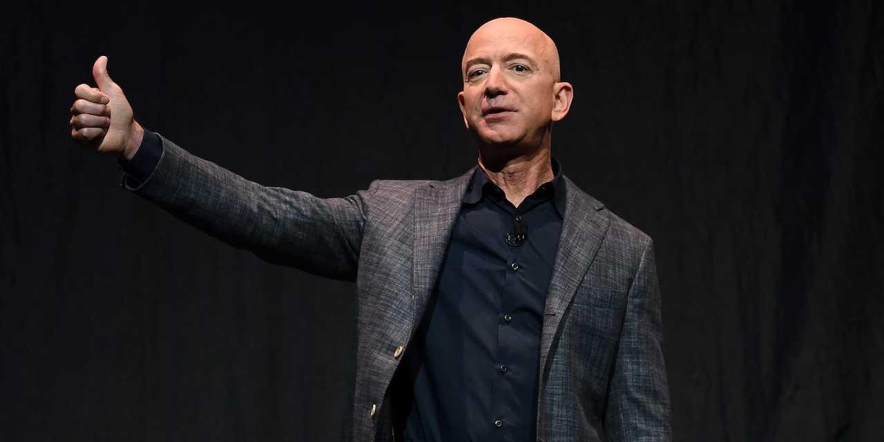 アマゾンCEOのジェフ・ベゾス。