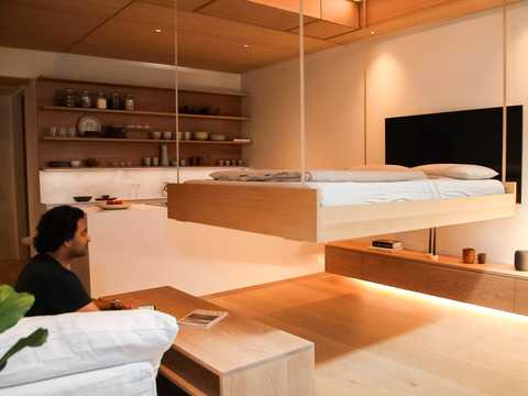 クラウド・ストレージから天井のベッドまで、収納の問題は市場と深く関連している。