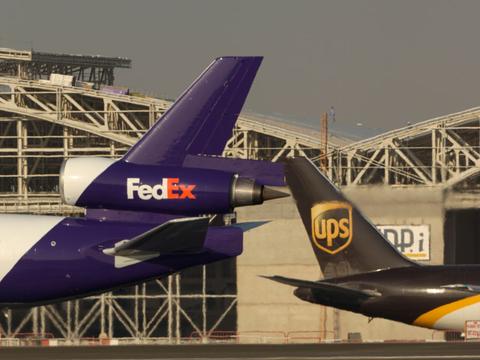 FedEx UPS 物流