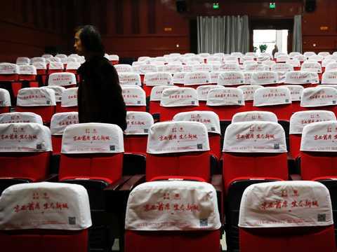 映画館が再び閉鎖