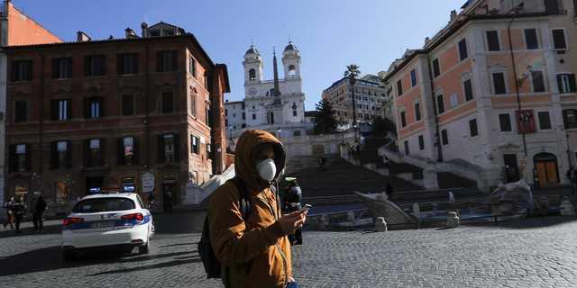 イタリアではロックダウンが効果を上げている