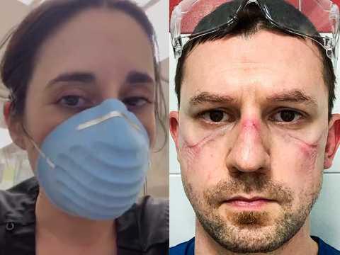 疲れた顔をSNSにアップする医療従事者たちのメッセージは唯一つ