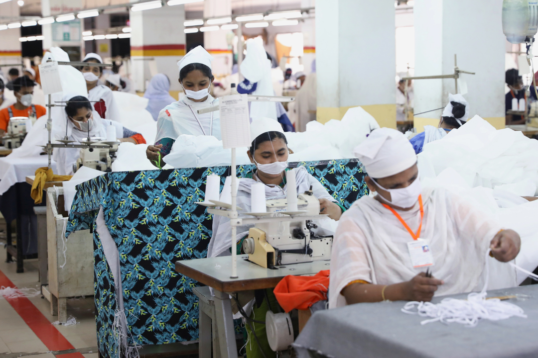 バングラデシュ 工場