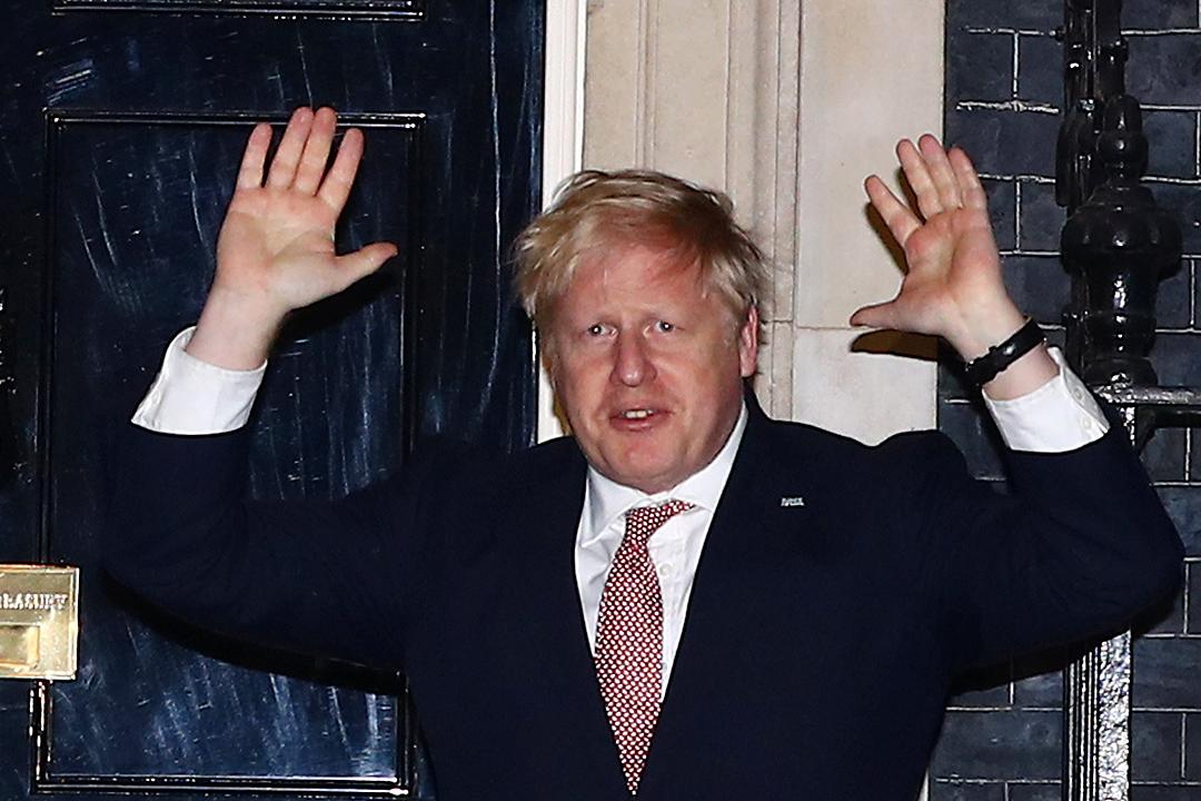 首相 イギリス コロナ ジョンソン