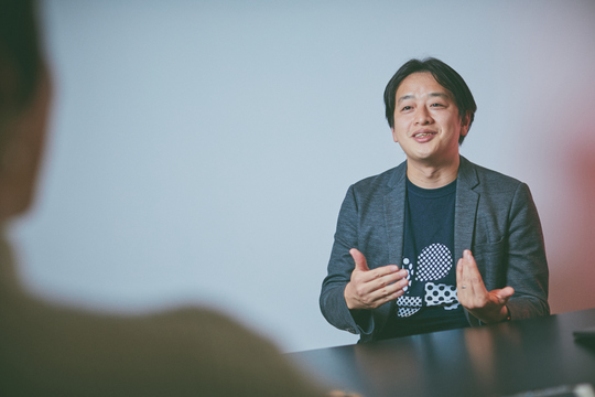 Chatwork社の代表取締役CEO兼CTO、山本正喜さん