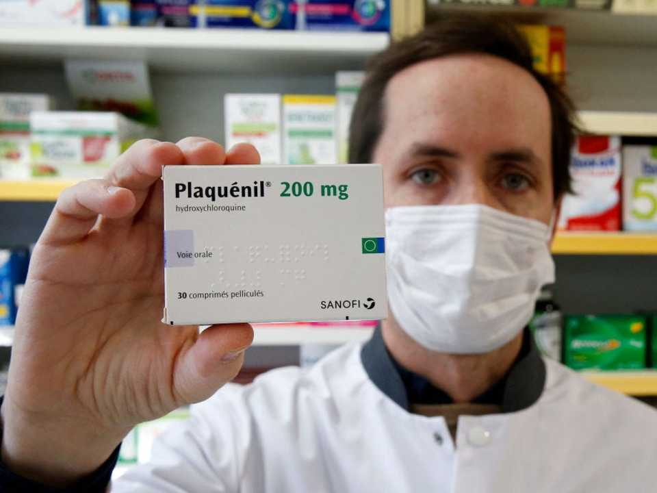 怪しげなサイトが薬物を薦める、ヒドロキシクロロキン