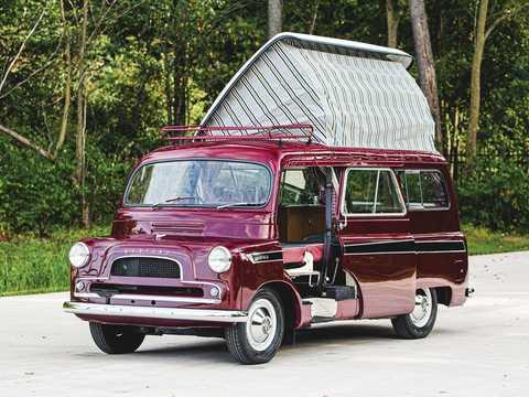 マーティン・ウォルター製、1961年式ベッドフォード・CA・ドーモビル・キャラバン。