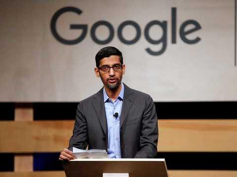 グーグルとその親会社アルファベットのCEO、スンダー・ピチャイ