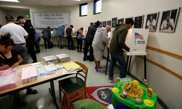 2016年大統領選挙投票所