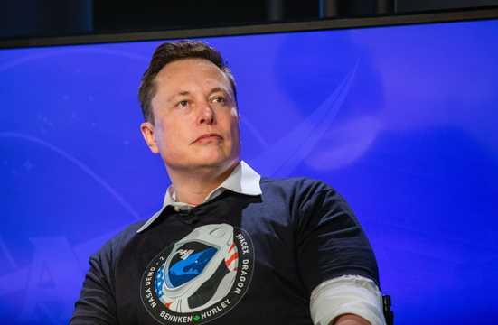 スペースXの設立者兼CEO、イーロン・マスク。5月30日。