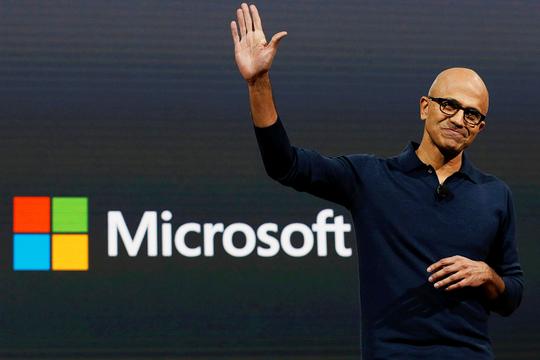 マイクロソフト サティヤ・ナデラ 最高経営責任者 CEO