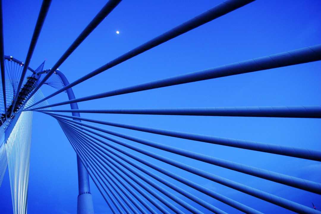 スリ・ワワサン橋(Seri Wawasan Bridge)。