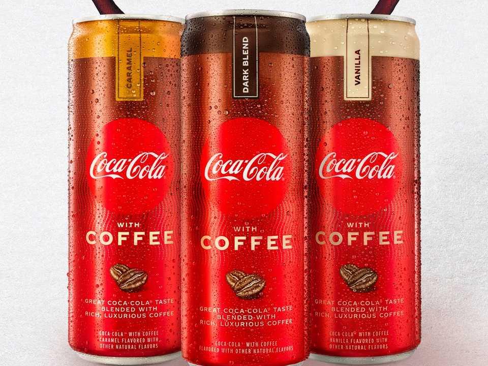 コカ・コーラが新コーヒー飲料