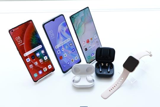 OPPOの新製品の写真
