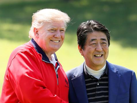 ゴルフ外交