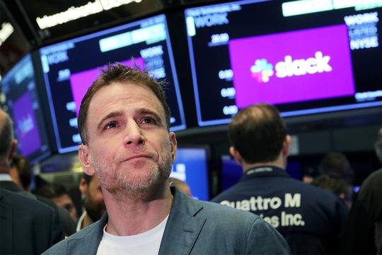 Slack CEO スチュワート バターフィールド