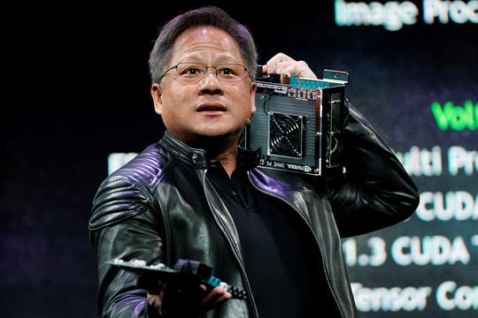 Nvidia Arm ジェンスン・フアン CEO