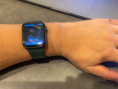 Watch 酸素 中 濃度 血 apple