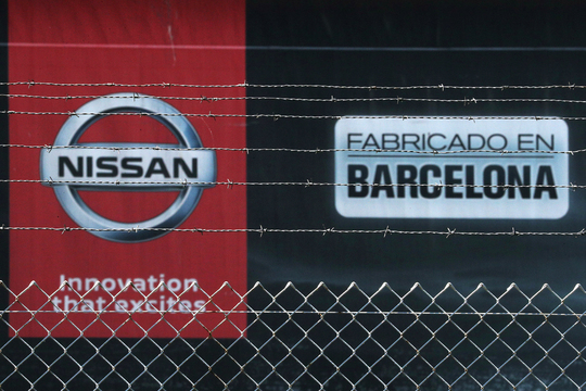 日産自動車 スペイン バルセロナ 工場