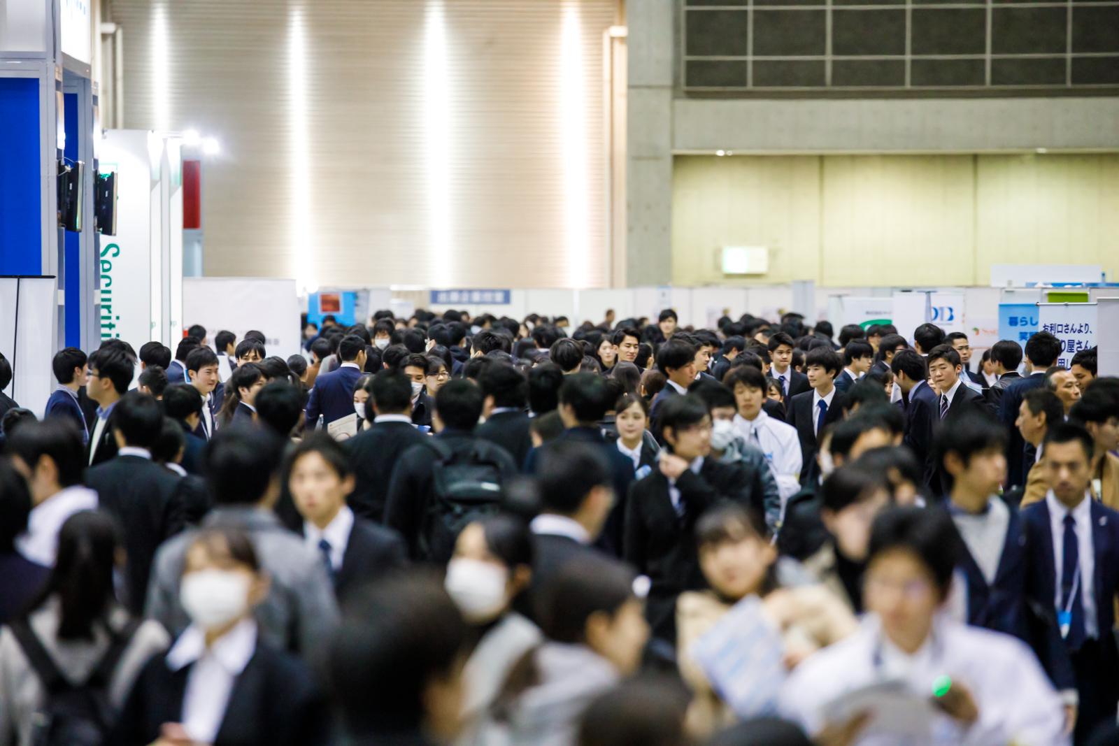 東京ビッグサイトの就活イベントに予約殺到。マイナビが計8000人集結の説明会開催へ