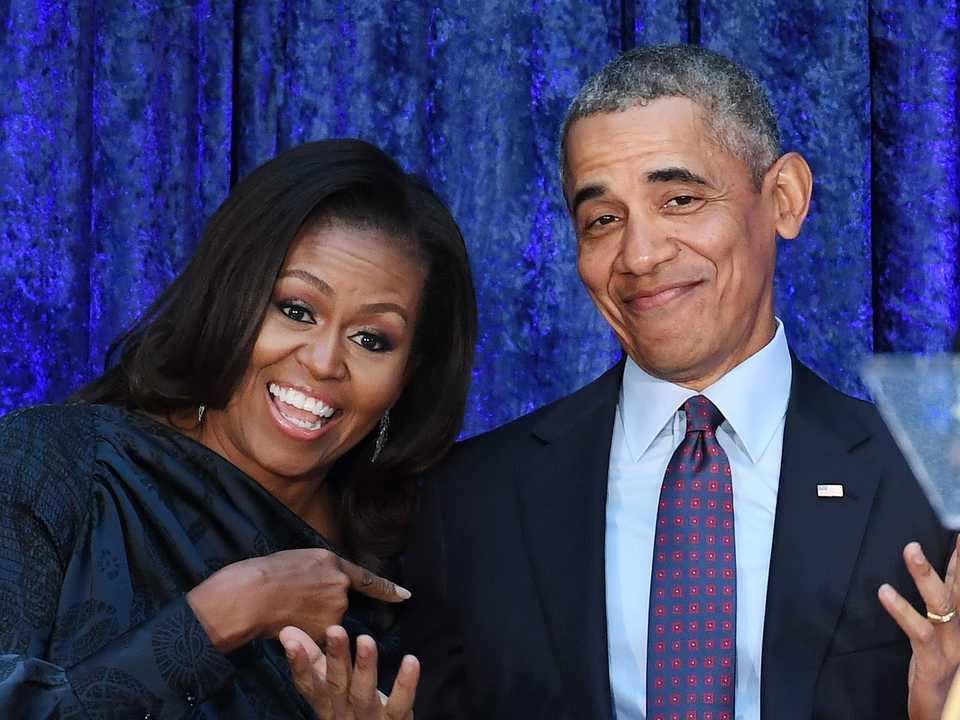 ミシェル・オバマ、バラク・オバマ