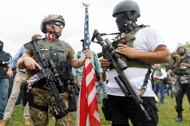トランプ大統領がテレビ討論会で言及、過激派グループ「プラウド ...