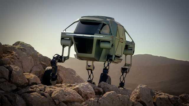 ヒュンダイは、ロボットとクルマを融合した乗り物を開発しようとしている。