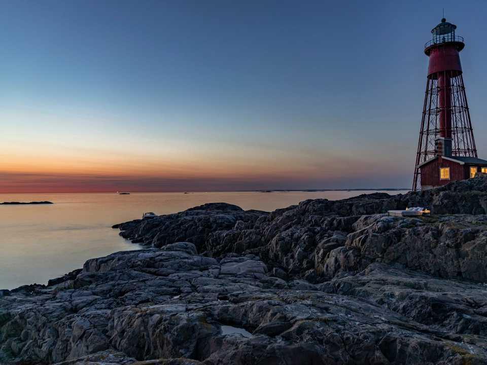 パター・ノスター灯台。