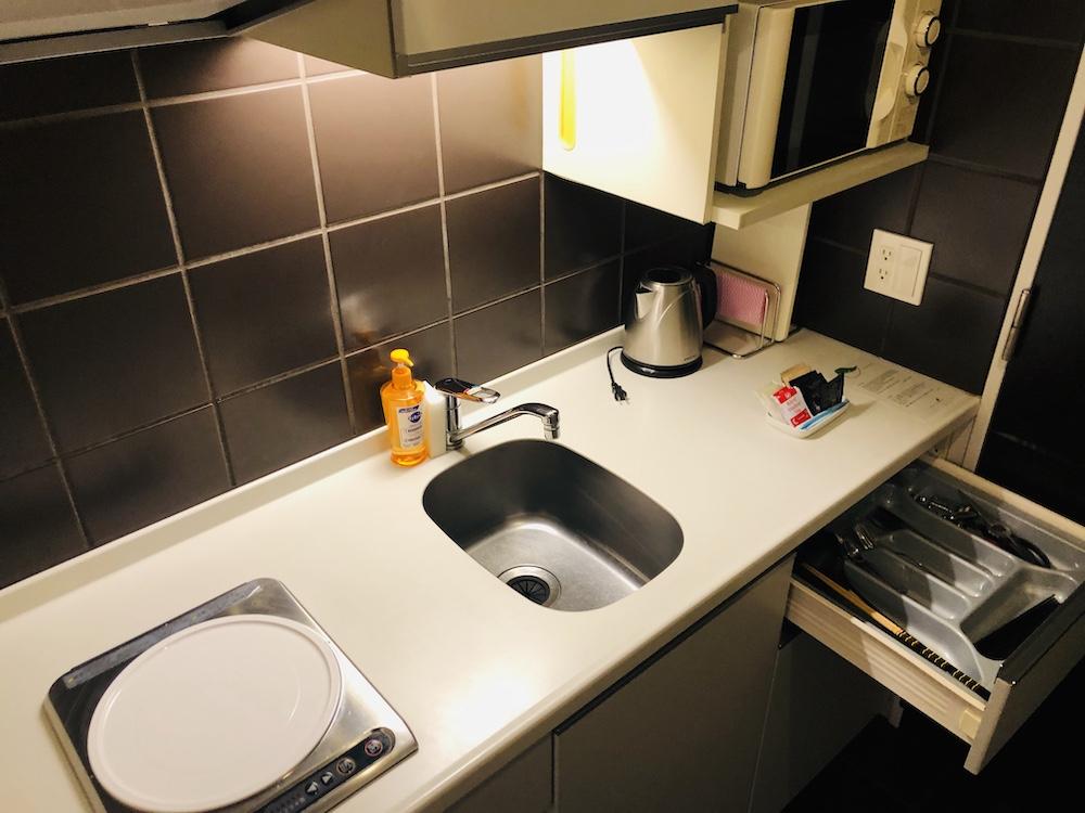 シタディーン新宿(キッチン)