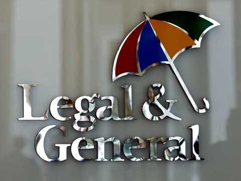 ロンドンにあるリーガル・アンド・ジェネラルのオフィスに掲げられたロゴ。