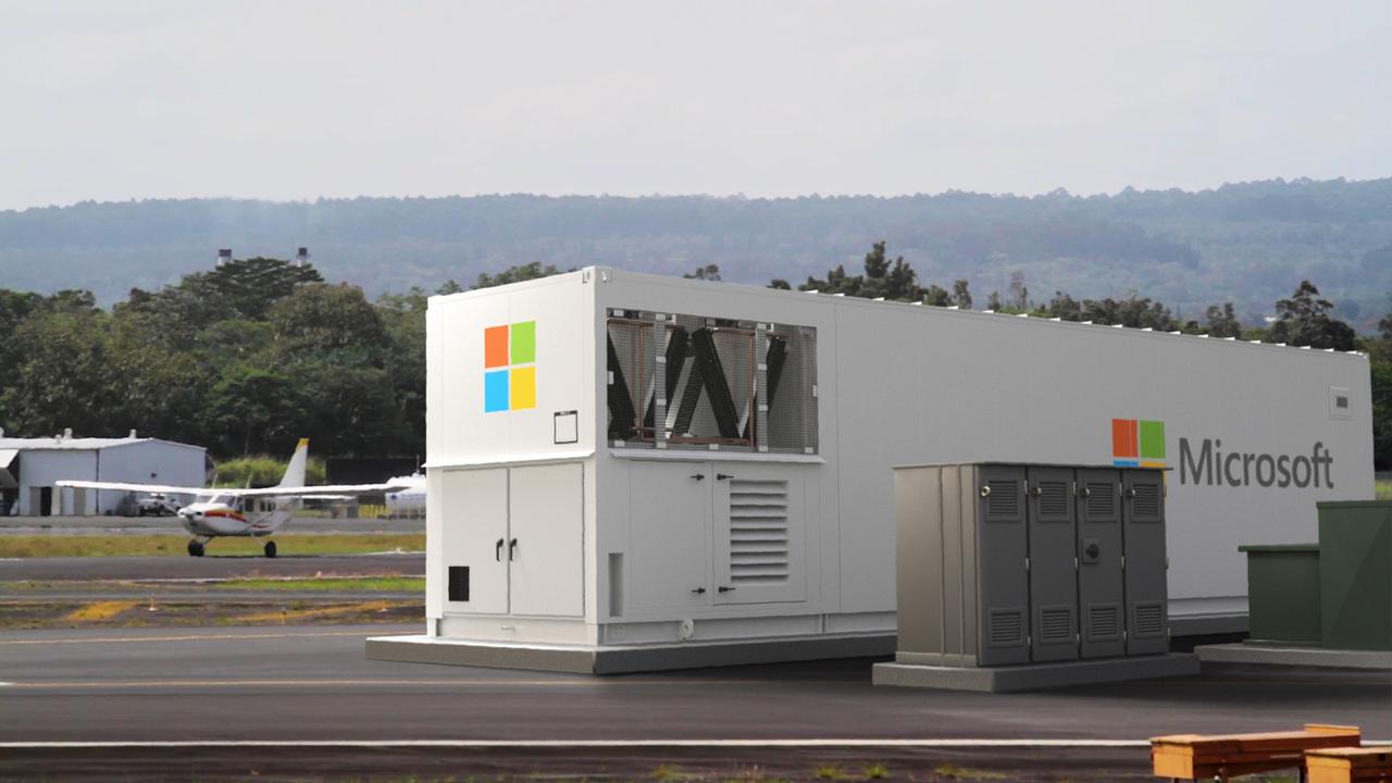 Azure モジュラーデータセンター(MDC)