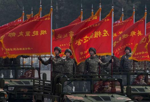 中国70周年軍事パレード