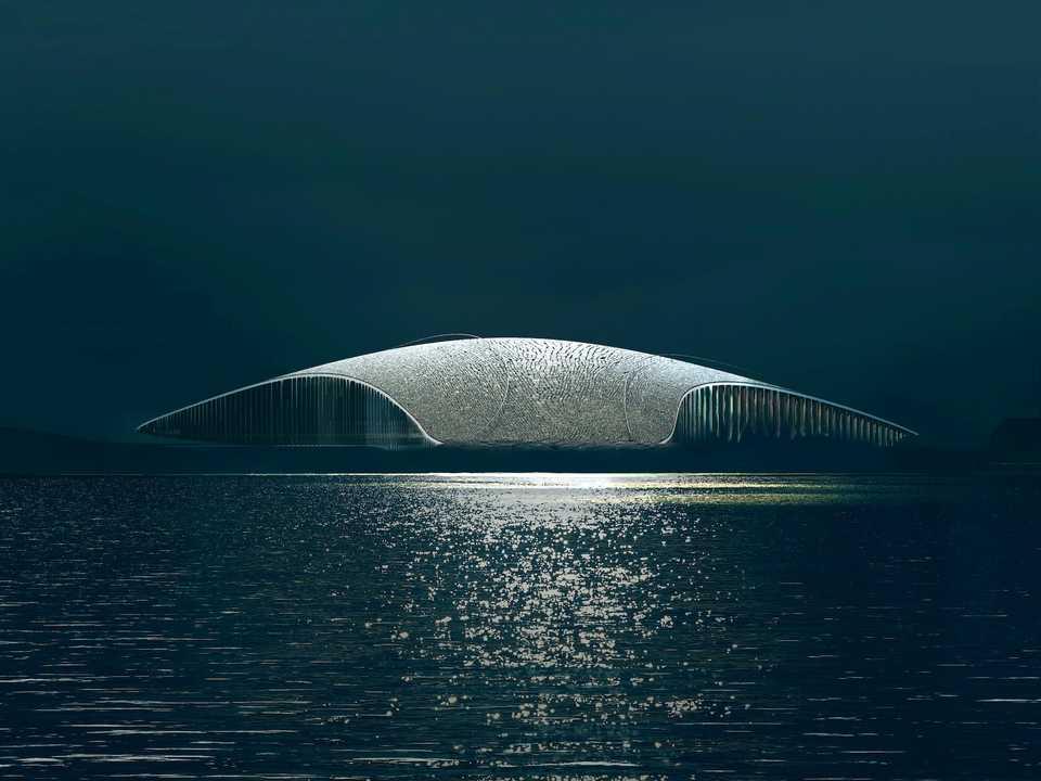 ミュージアムはノルウェー・アン島のアンデネスにある。