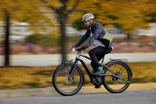シリアル1の電動自転車