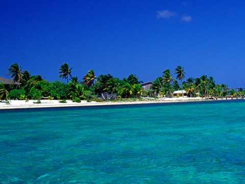 ケイマン諸島のリトルケイマン島。