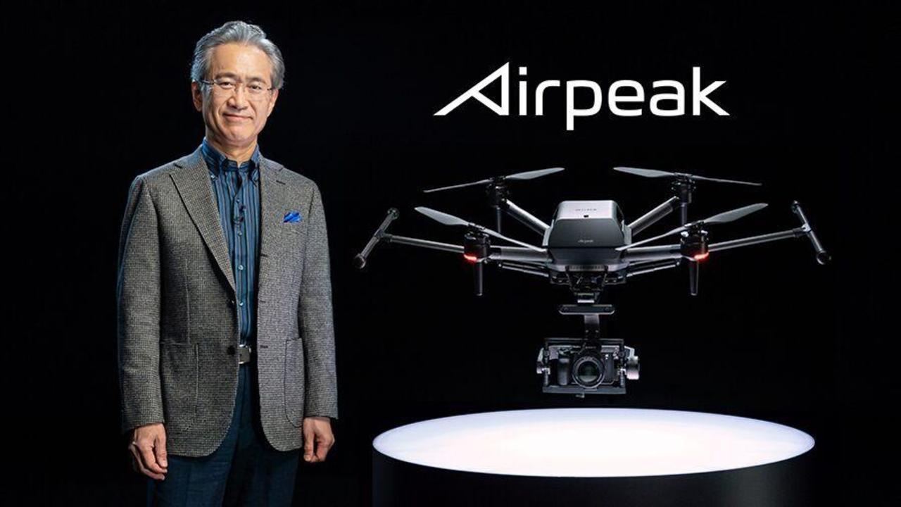 Airpeakとソニーの吉田憲一郎会長兼社長