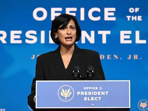 アメリカ疾病予防管理センター(CDC)の新所長、ロシェル・ワレンスキー。