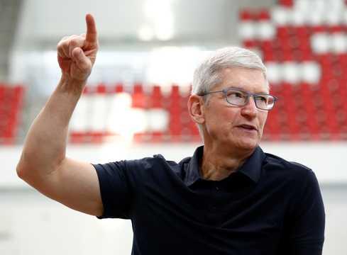 アップルのティム・クックCEO。