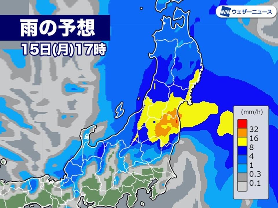 雨の予想_15日
