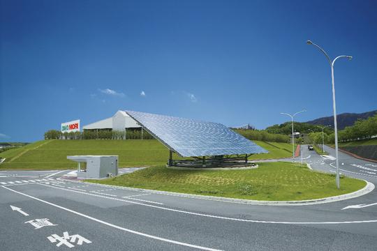 DMG森精機の太陽光発電